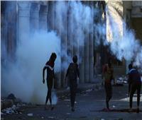 قوات الأمن العراقية تفرق المحتجين وتعيد فتح ميناء أم قصر