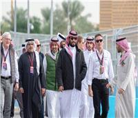 الأمير محمد بن سلمان يشهد انطلاق بطولة إيه بي بي فورمولا إي في الرياض