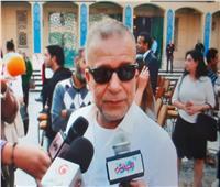 شريف منير يكشف سر النظارة السوداء في افتتاح مهرجان القاهرة السينمائي