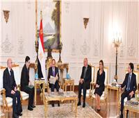 وزير خارجية المغرب يسلم الرئيس السيسي رسالة خطة من الملك محمد السادس