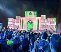 فيديو وصور| الحريري وفوزي يبهران الجمهور بأول مسرح 3D mapping في الشرق الأوسط