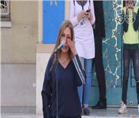 فيديو| سر بكاء ليلى علوي في ندوة شريف عرفة