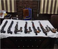 المشدد 3 سنوات للمتهم بحيازة أسلحة نارية وذخائر في المقطم
