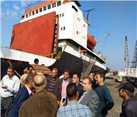 «السكة الحديد» تتابع استعدادات استقبال 10 جرارات جديدة بميناء الإسكندرية