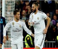 شاهد|ريال مدريد يحول تأخره لفوز بثلاثية على سوسيداد