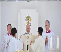 البابا فرنسيس يترأس القداس الإلهي بإستاد البيسبول في اليابان