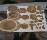 ضبط 25 قطعة أثرية بمنزل عاطل في أسيوط