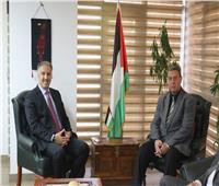 السفير الفلسطيني يشيد بالتعاون الإعلامي مع مصر