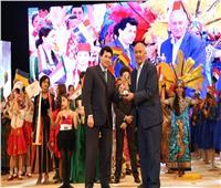 وزير الشباب والرياضة يشهد ختام المهرجان العالمي للطفولة