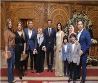 صور| رامي صبري ومحمد نور في عقد قران «محمد وجيلان»