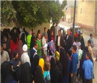 الكشف على 901 حالة ضمن فاعليات مبادرة حياة كريمة بقرية الياسنية