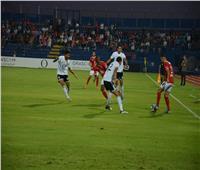 وليد سليمان يحرز الهدف الثاني للأهلي في مرمي الجونة