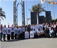 انطلاق مبادرة «مسئوليتنا كلنا» بجامعة حلوان لمناهضة العنف ضد المرأة