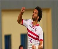 محمود علاء يسجل هدف التعادل للزمالك أمام إنبي