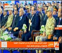 فيديو| السيسي: تنمية شرق بورسعيد كان مطروحًا منذ 15 عاما وتأخر بسبب نقص التمويل