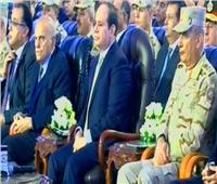 «مجدي يعقوب» يظهر بجوار «الرئيس» خلال افتتاح عدد من المشروعات التنموية