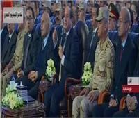 الرئيس السيسي يفتتح 54 مصنع للصناعات الصغيرة ببورسعيد