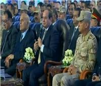 فيديو| السيسي: الدولة قادرة على استقبال المستثمرين الأجانب بمنطقة شرق بورسعيد