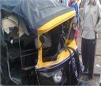 مصرع طفلة وإصابة والدتها في حادث مروري بقنا