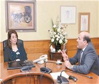 حوار  غادة والي: تقدير العالم لمصر وراء اختياري للمنصب الدولي