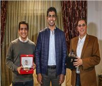 «الأهلي» يكرم سفير مصر في تونس
