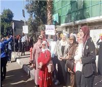 مسيرة نسائية في الزمالك للحفاظ على حقوق المرأة