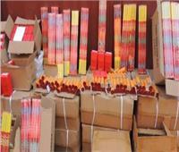 جمارك الإسكندرية تضبط محاولة تهريب كمية كبيرة من الألعاب النارية
