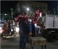 صور| حملة لإزالة الإشغالات بحي جنوب الجيزة