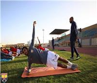 صور| الجونة يواصل تدريباته استعدادا لمواجهة المقاولون العرب