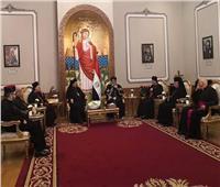 البابا تواضروس يستقبل مجلس بطاركية الشرق الكاثوليك