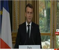 بث مباشر  مؤتمر صحفي للرئيس الفرنسي وأمين عام حلف الناتو