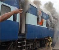 «السكة الحديد»: إخماد حريق نشب في عربة خالية من الركاب بمحطة كفر الزيات