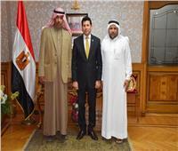 وزير الشباب والرياضة يلتقى رئيس الاتحاد المصرى للهجن