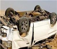 إصابة 15 عاملا في انقلاب سيارة ربع نقل ببني سويف