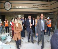 وزير التعليم العالي يتفقد أعمال التطوير بمستشفى الاستقبال والطوارئ بقصر العيني