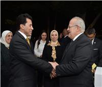 الخشت: نتعاون مع وزارة الشباب ومحافظة الجيزة في اكتشاف الموهوبين