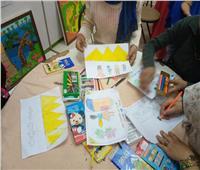 صور  محاضرات وورش فنية بثقافة القليوبية