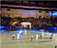 جامعة جنوب الوادي تشارك في ختام الأولمبياد الرياضي للمحافظات الحدودية