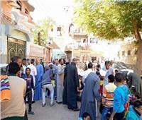 صور  أهالي قرية بقنا يحيون ذكرى شفائهم من الكوليرا والطاعون بهذه الطريقة
