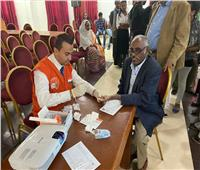 الصحة: فريق مصري يجري فحص فيروس سي لـ 656 مواطن من أريتريا