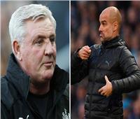 تشكيل مانشستر سيتي في مواجهة نيوكاسل يونايتد