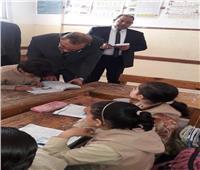 محافظ كفر الشيخ الجديد يختبر تلاميذ الابتدائية في «القراءة والحساب»