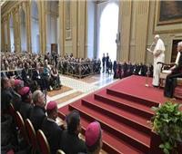 البابا فرنسيس يلتقي المشاركين في لقاء «فرح الإنجيل»
