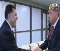 أحمد موسى: اتفاق إردوغان والسراج تم خارج إطار القانون الدولي