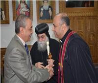 محافظ الإسماعيلية يلتقي قيادات كنيسة«الأنبا بيشوي»