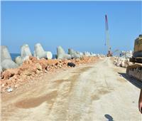 «السياحة والمصايف» توضح حقيقة صور الحائط الخرساني على كورنيش الإسكندرية