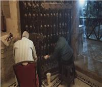 آثار الإسكندرية: ترميم وصيانة الأبواب الرئيسية لقلعة قايتباي