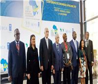 وزيرة الاستثمار ومحافظ البنك المركزي يفتتحان المؤتمر الاقتصادي الأفريقي