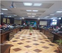 رئيس جامعة دمنهور يشهد انطلاق ورشة عمل عن بنك المعرفة المصري