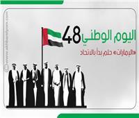 إنفوجراف | اليوم الوطني الـ48..«الإمارات» حلم بدأ بالاتحاد